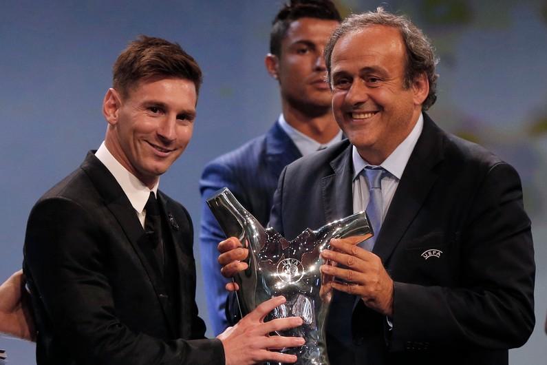 Messi meilleur joueur européen de l'année