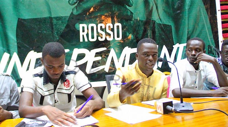 """Point de presse de presse du rappeur Rosso à l'occasion de la sortie de son nouvel album """"INDÉPENDANT"""""""