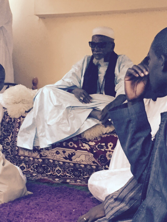 A Nganda hier : Serigne Assane & Cie tancés par le Khalife général des mourides