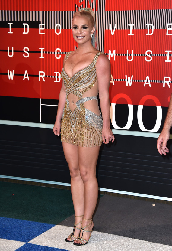 Britney Spears en pleine forme sur le tapis rouge.