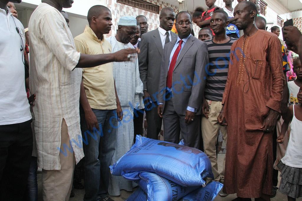 Dégâts causés sur le littoral : Abdou karim Sall au chevet de la population de Mbao.