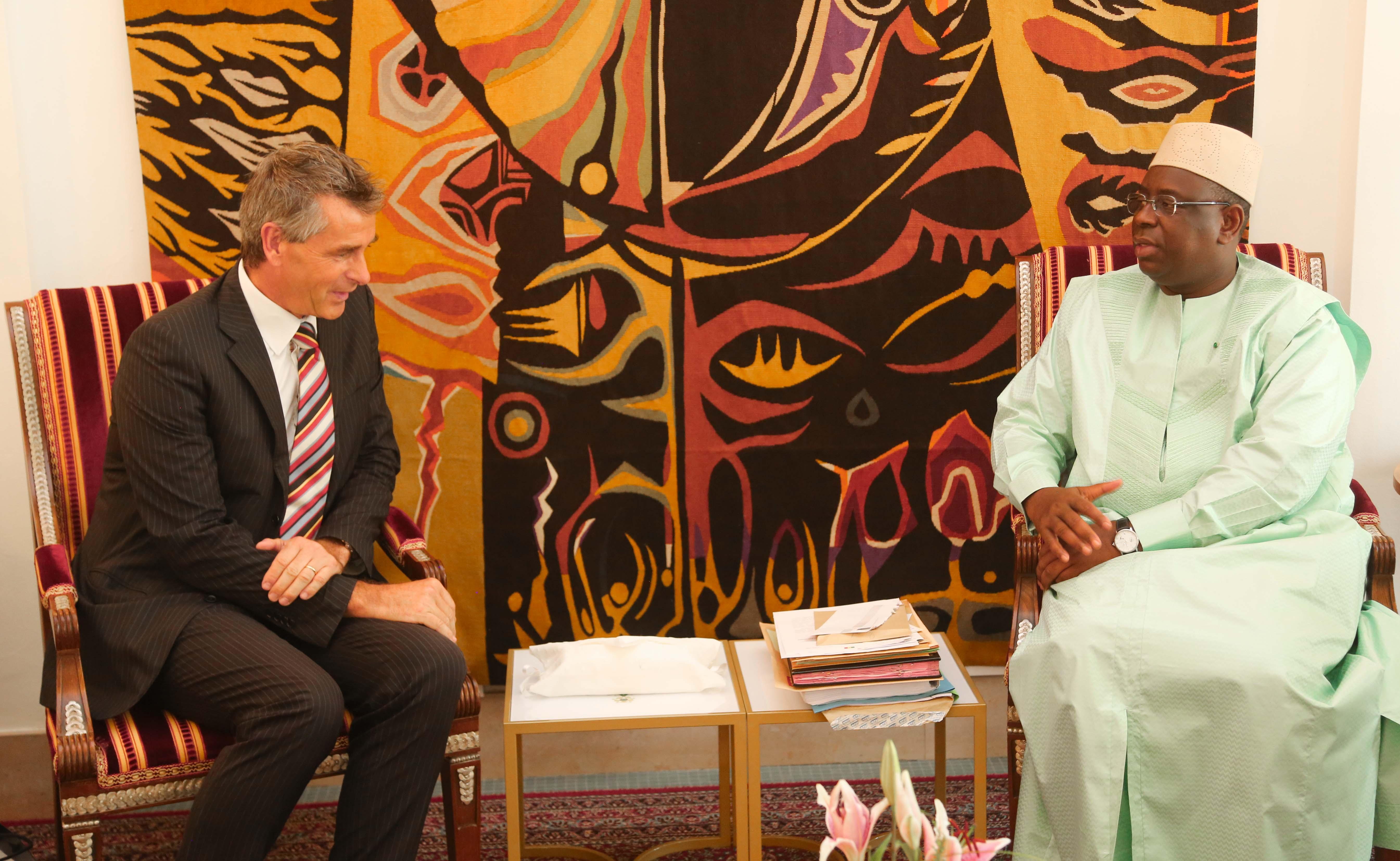 Audience de l'Ambassadeur du Royaume de Belgique au Sénégal