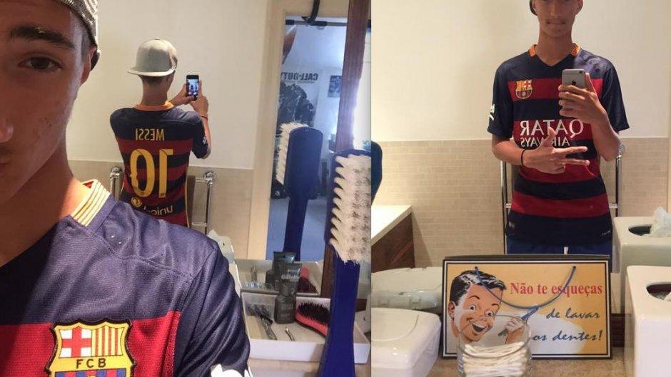 Barça : le cadeau de Messi au fils de Mourinho