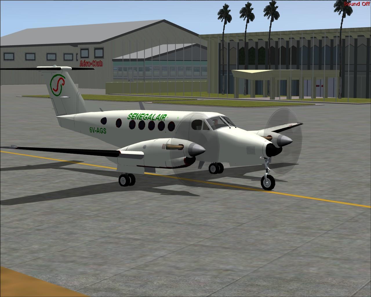 ALERTE : Crash d'un avion sanitaire de Sénégal Air