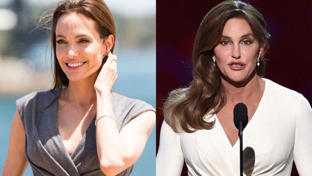 Angelina Jolie : son look inspire Caitlyn Jenner