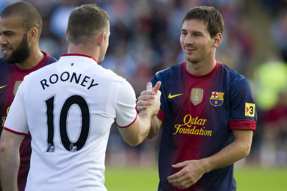 "Messi: ""Il n'y a personne comme Rooney"""