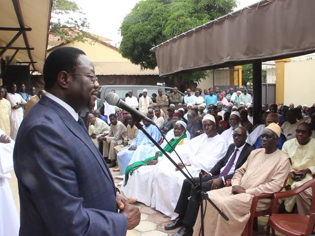 Nécrologie : Le ministre d'Etat M'baye N'diaye loue les qualités du professeur Serigne Diop à la levée du corps de sa défunte épouse