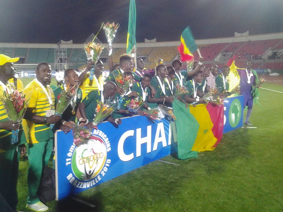 Jeux africains de Brazzaville : Le Sénégal remporte la médaille d'or de Football