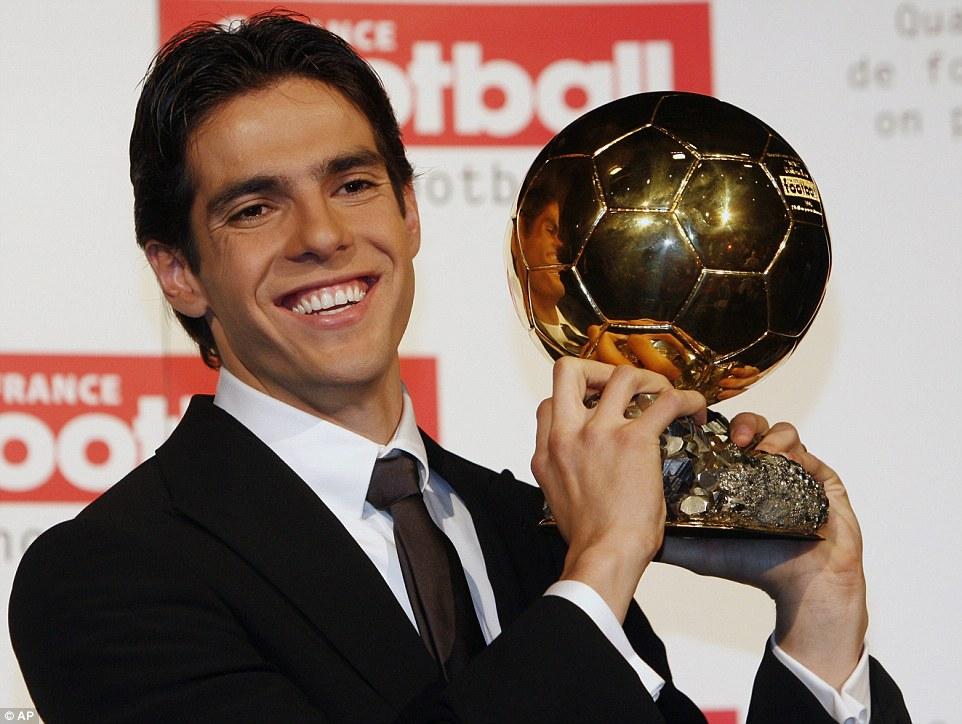 Kaka : « Je suis le dernier « humain » qui a remporté le ballon d'or! »