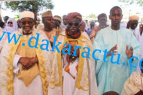 Les images de la célébration de l'Aïd El Kébir 2015 à Médina Baye à Kaolack