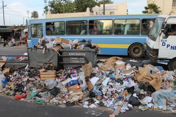 Enlèvement des ordures ménagères : Pour 3 mois de factures non payées, les concessionnaires réclament leur argent