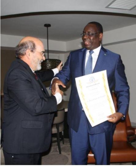 New York: Atteinte du premier Objectif du Millénaire pour le développement (OMD-1)  L'ENGAGEMENT FORT DU PRESIDENT MACKY SALL PRIME PAR LA FAO