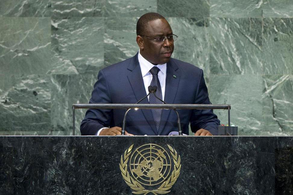 Direct : Le Président Macky Sall à la tribune de l'ONU