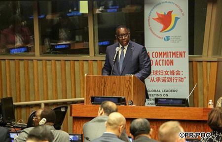 70 ème session ordinaire de l'Assemblée générale des Nations Unies : Discours du président de la République Macky Sall