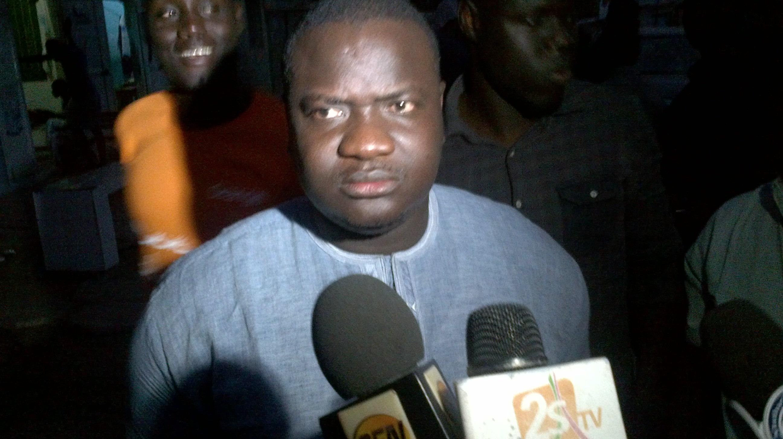 LA CONVERGENCE DES JEUNES MACKYSTES S'EMPORTE : « Si Karim pense que c'est Assane Mbacké qui va le sauver, il se trompe! »