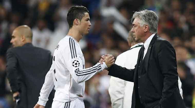Ancelotti: « Ronaldo est le meilleur joueur que j'ai jamais entraîné! »