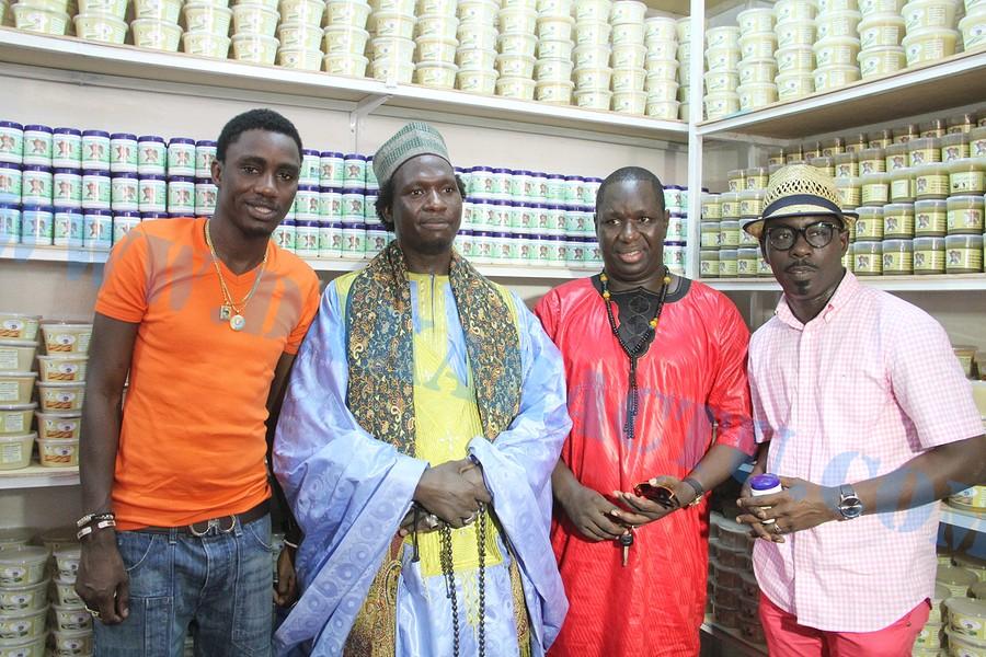 Le Docteur Cheikh Oumar Diop lance les produits Bio Naturel (IMAGES)
