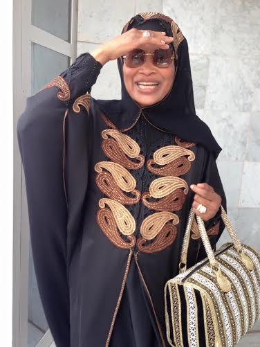 Me Aissata Tall Sall est rentrée de la Mecque