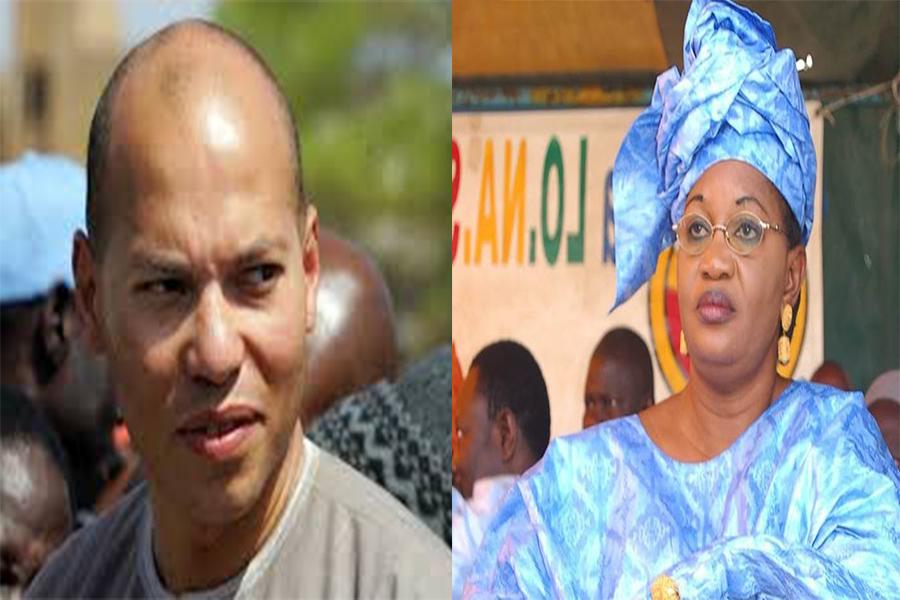 REBEUSS : Aïda Mbodj présente à Karim Wade les résultats de sa pétition