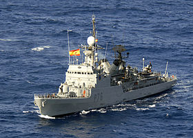 Le patrouilleur espagnol « Centinela » sera à Dakar jusqu'au 13 octobre