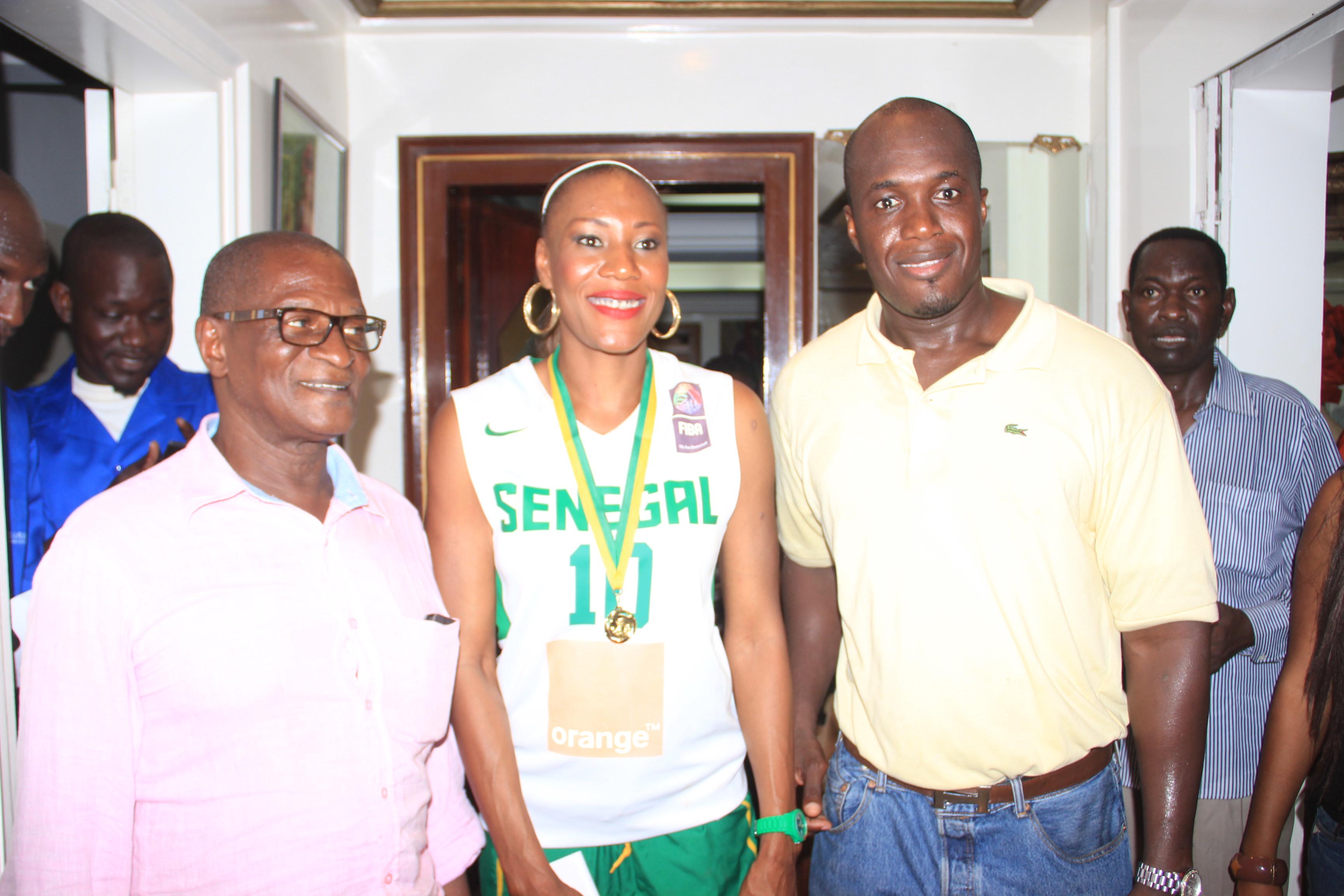 La styliste Diouma Dieng va dorénavant habiller l'équipe féminine de basket du Sénégal