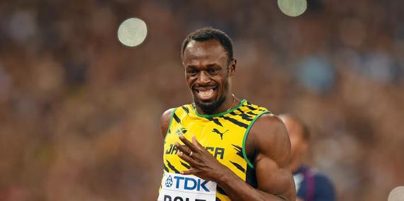 Insolite - Athlétisme : Quand Usain Bolt affronte un enfant de 8 ans sur 100m !