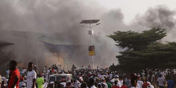 GUINÉE : Des violences électorales à Conakry font au moins 2 morts (Jeune Afrique)