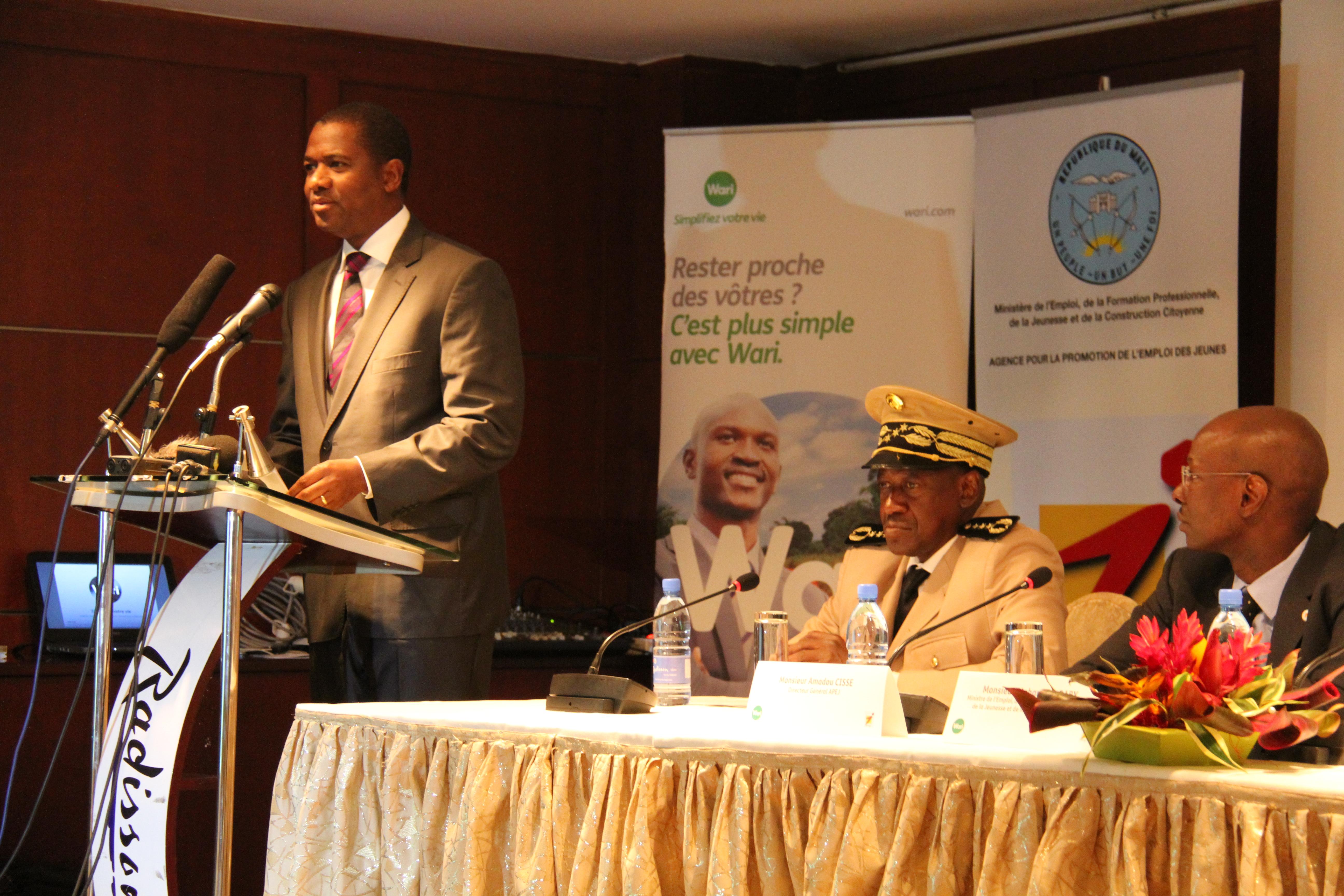 Partenariat Public-Privé : APEJ/Wari pour la création de 6 000 emplois jeunes au Mali