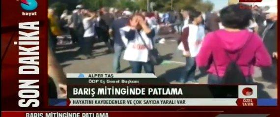 TURQUIE : Des explosions près de la gare d'Ankara font au moins vingt morts