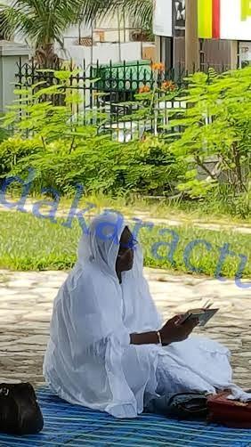 Prière de Takkusaan de la Première Dame à l'Hôpital Principal de Dakar