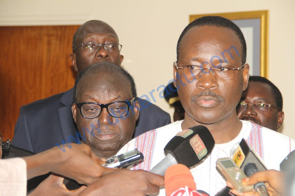 """Colonel Zida au Sénégal : """"Le Général Diendéré doit répondre de ses actes devant la justice!"""""""