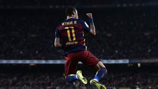 Neymar s'offre un quadruplé contre le Rayo