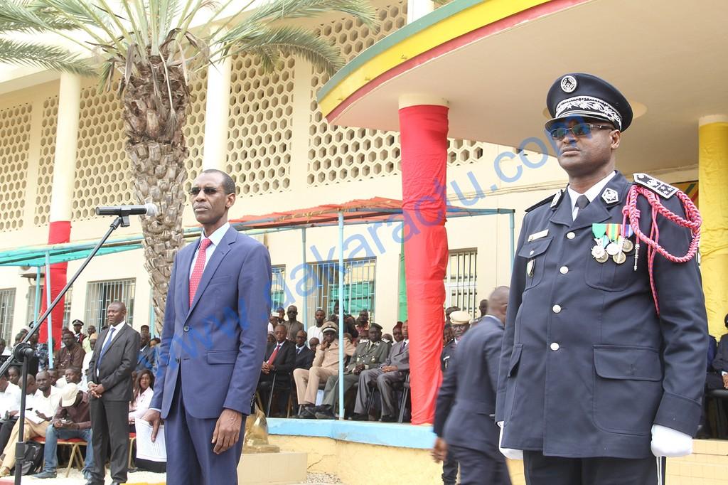 les images de la cérémonie d'installation du nouveau Directeur de la police nationale à l'Ecole nationale de police et de la formation permanente