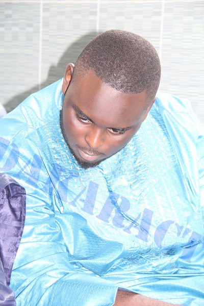 Amadou Sall, le fils du président Macky Sall au mariage de Mara Ndiaye