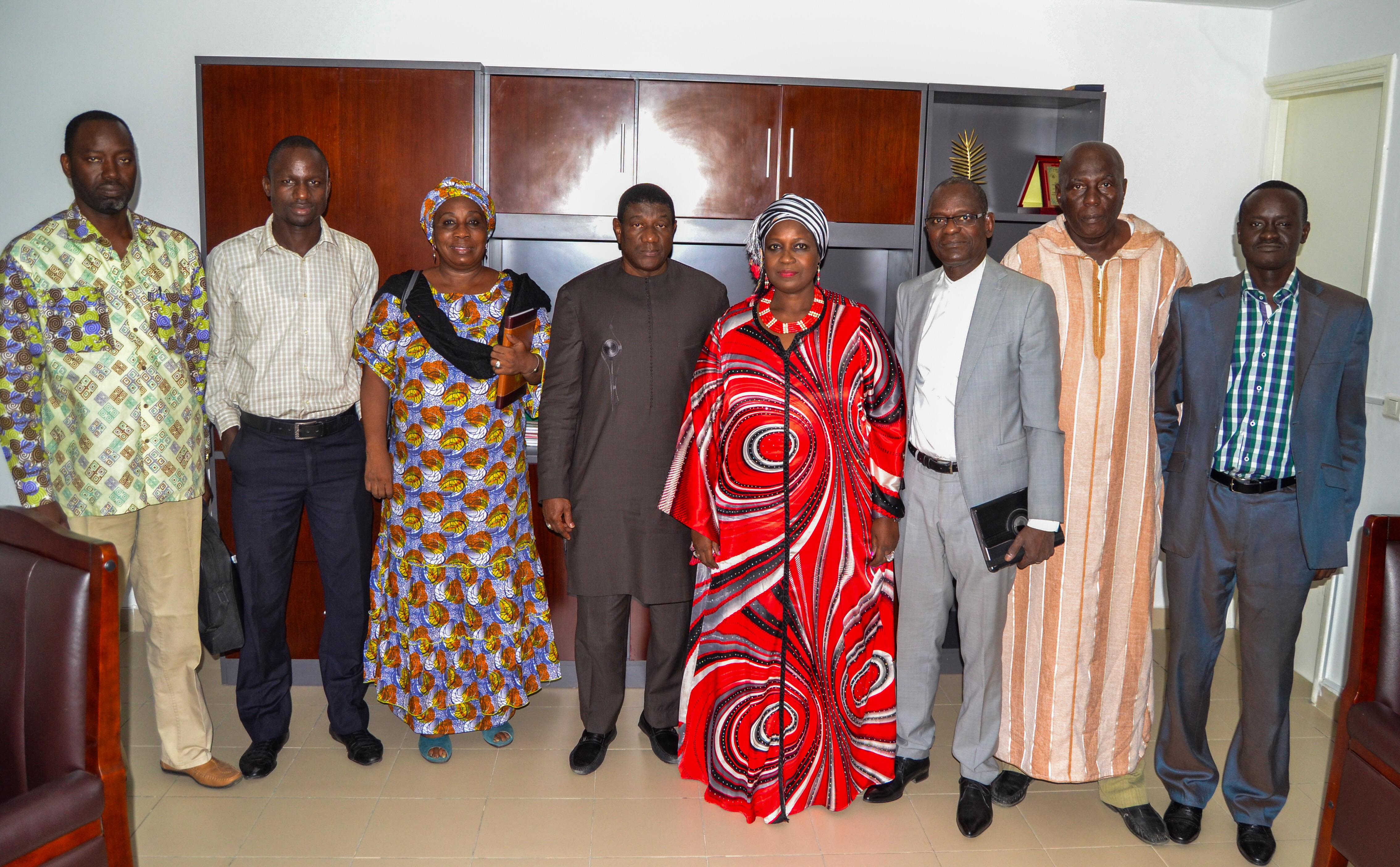 Préparatif SCI Afrique : Modou Guiro rencontre Inocence N'tap N'diaye, la Présidente Haut Conseil du dialogue social