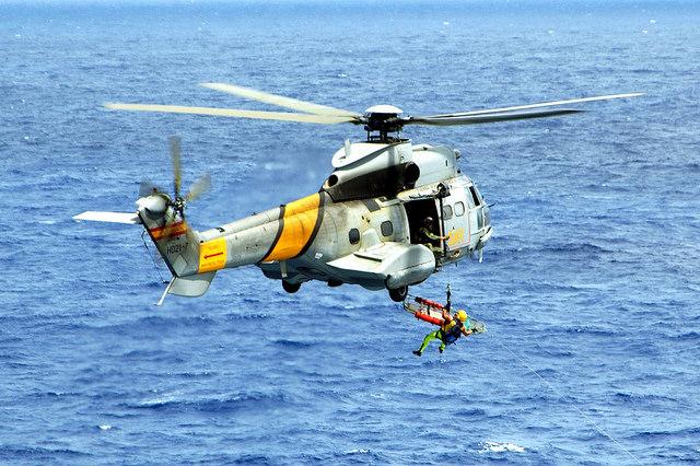 Crash d'un hélicoptère espagnol au large des Canaries