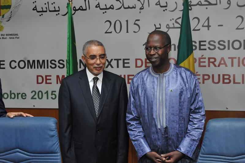 Les images de la clôture de la 12ème session de la Grande Commission mixte de coopération et la signature des accords entre le Sénégal et la Mauritanie