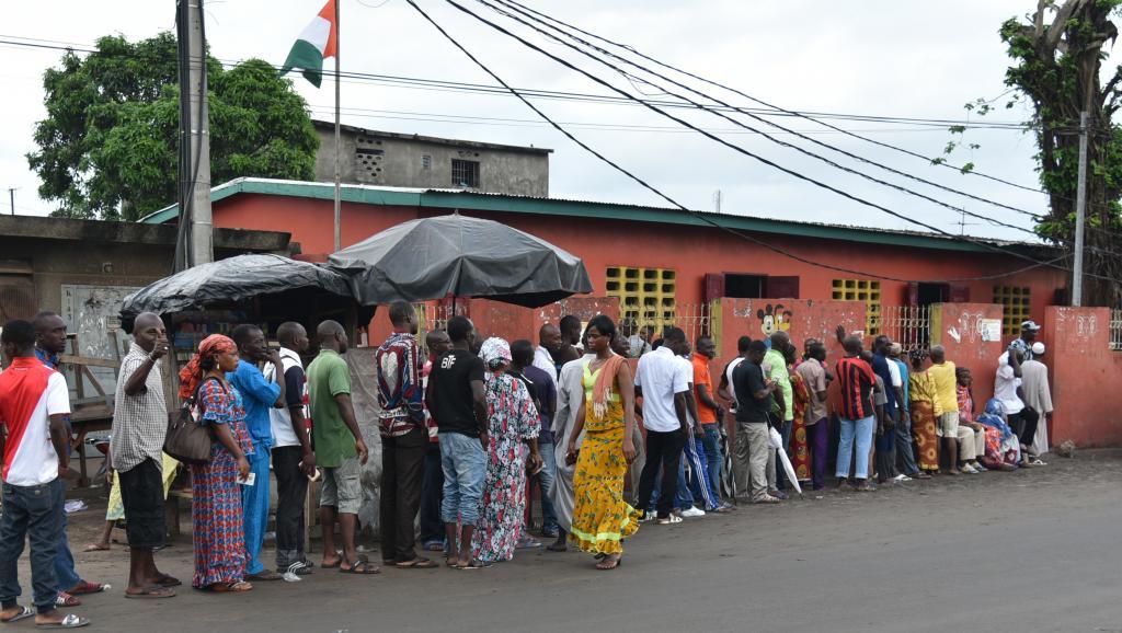 Présidentielle ivoirienne : le taux de participation atteint les 60 %