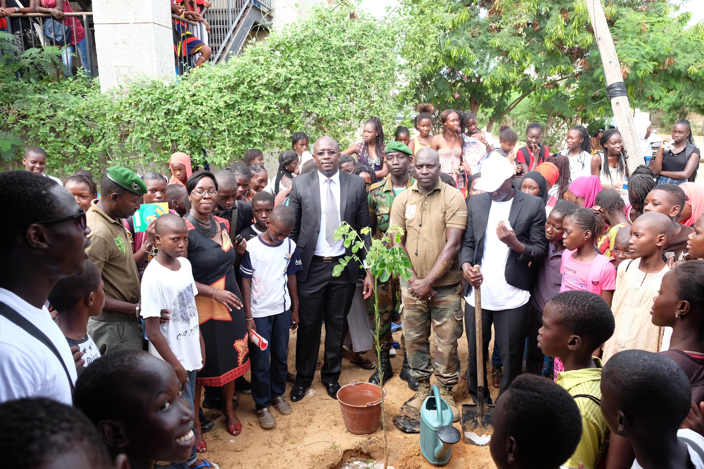 Lycée Blaise Diagne : Démarrage de la semaine verte avec les élèves du CEM
