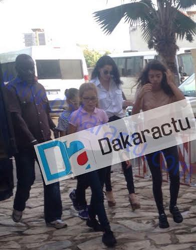 EXCLUSIVITÉ : Voici les images des filles de Karim Wade en vacances au Sénégal