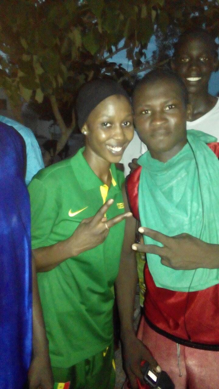 Bambilor : Fatou Dieng épaule les actions pour la réussite du Basket