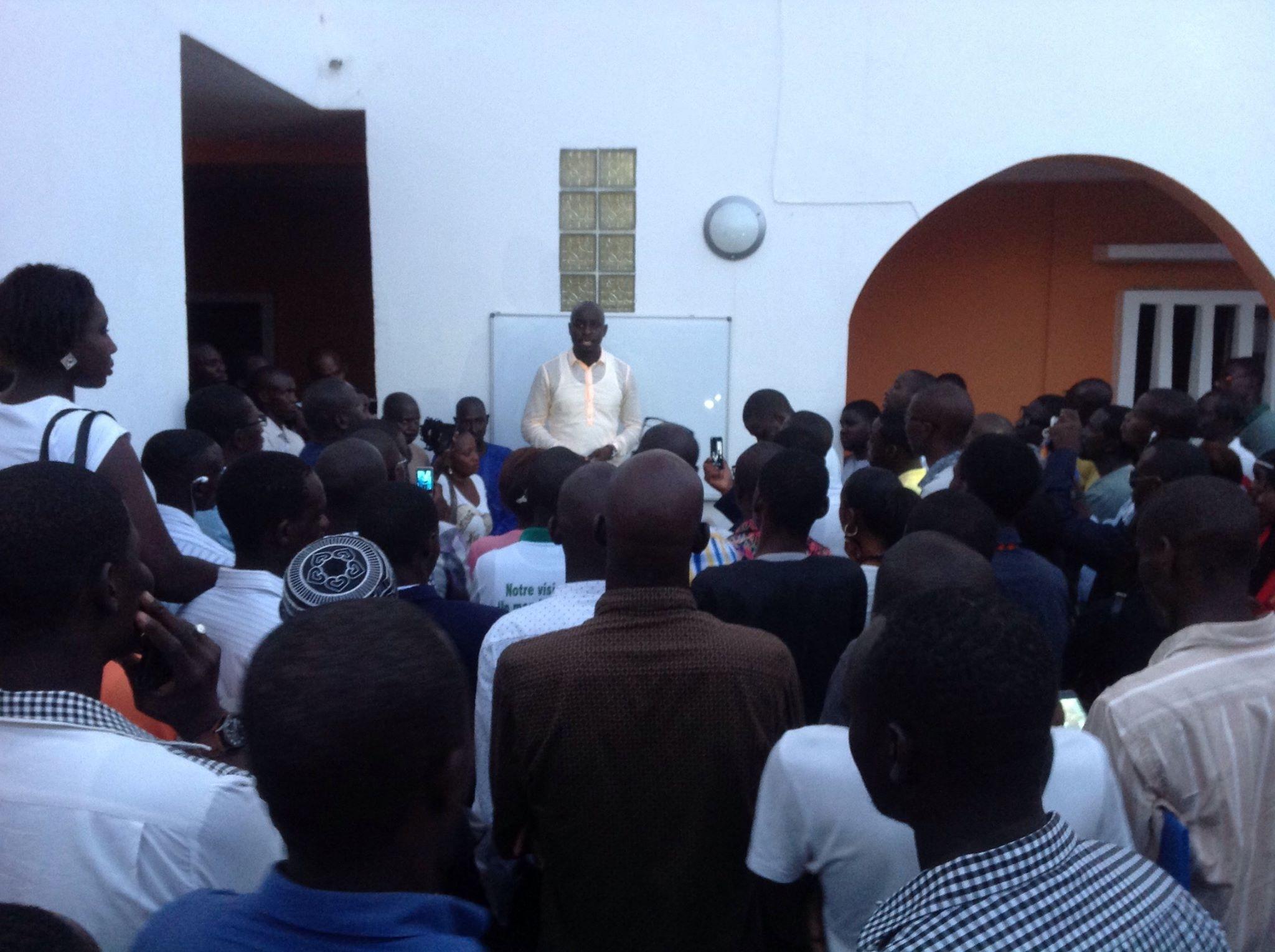 Manifestation du Grand cadre de l'opposition aujourd'hui : Les jeunes de Rewmi demandent une participation massive de leurs militants