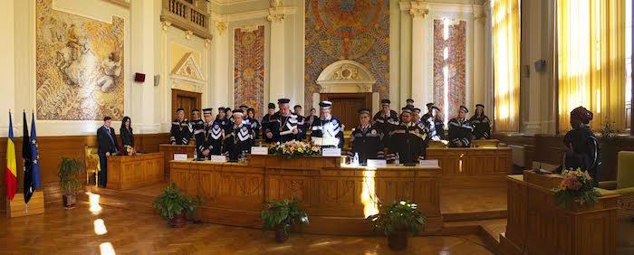 ROUMANIE : Penda M'bow Docteur honoris Causa de l'Université Babes-Bolyai de Cluj-Napoca