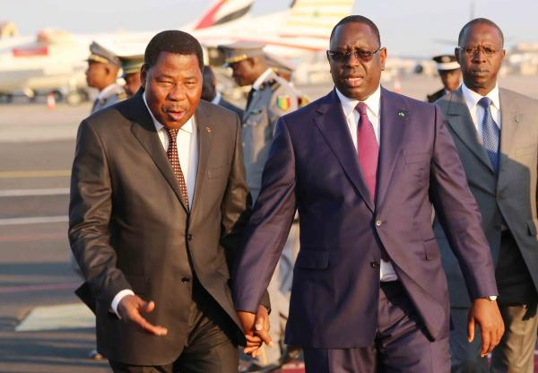 Macky Sall et Yayi Boni à Abidjan pour la prestation de serment du Président Ouattara