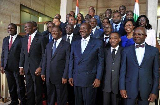 Côte d'Ivoire : Ouattara réélu maintient son équipe gouvernementale