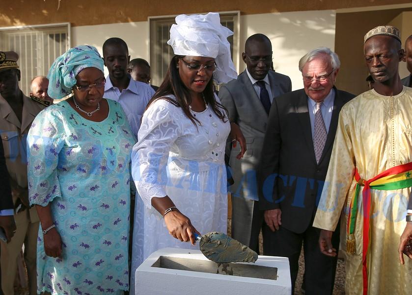 Pose première pierre de la maternité de Ouakam : Un projet global de 200 millions de francs CFA