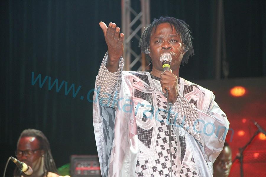 GRAND THÉÂTRE : Les images des 30 ans de carrière musicale de Baba Maal