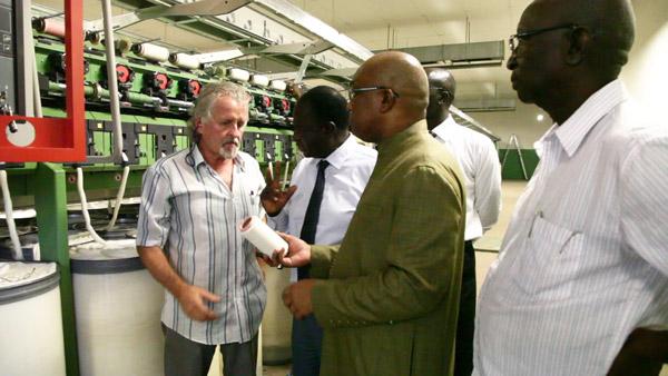Textile : La Bnde prête à accompagner le processus d'industrialisation du secteur, selon son directeur général