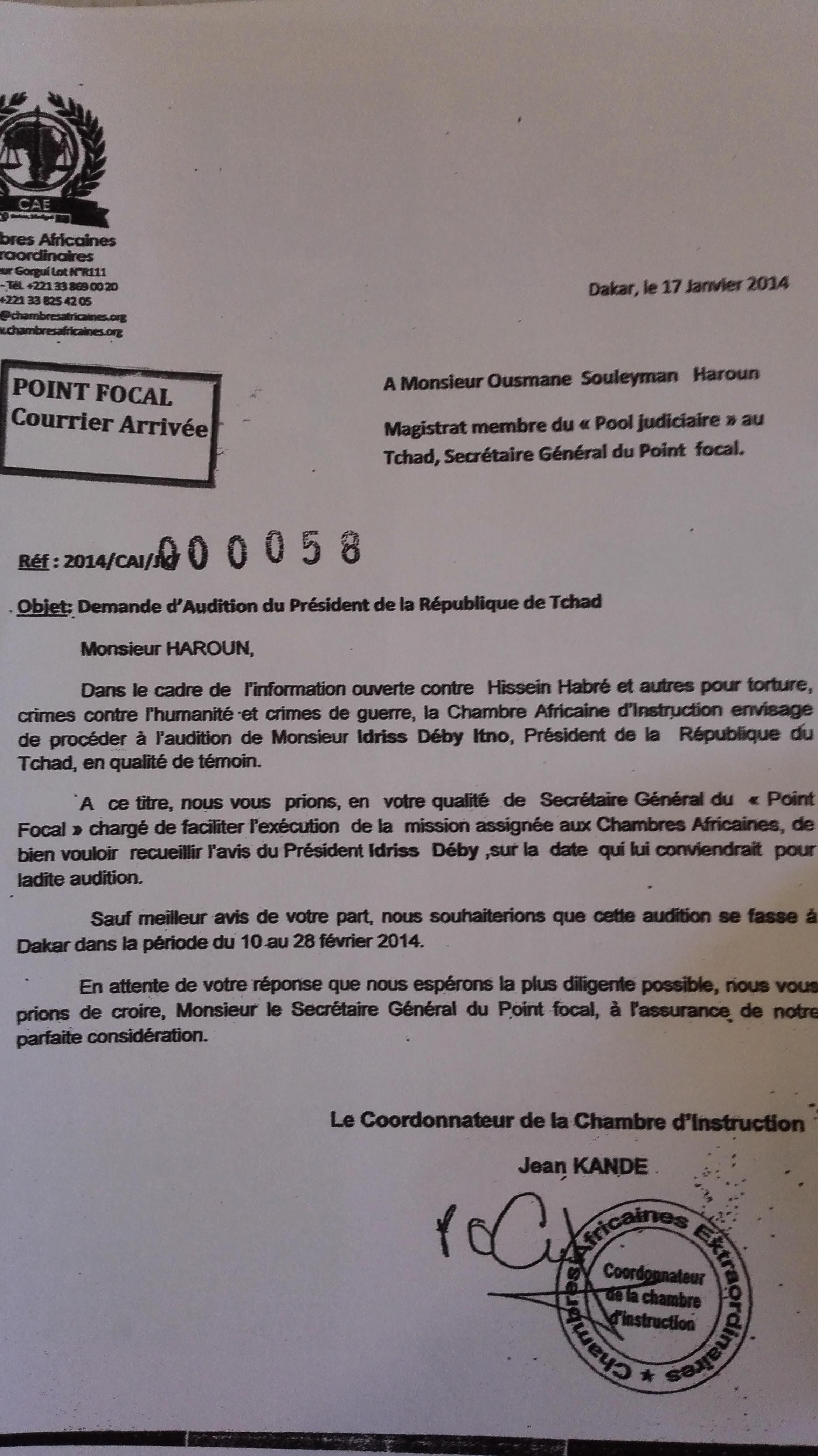 Convoqué par la CAE, annoncé à Dakar cette semaine : Idriss Déby risque t-il le même sort que Omar El-Béchir en Afrique du Sud?