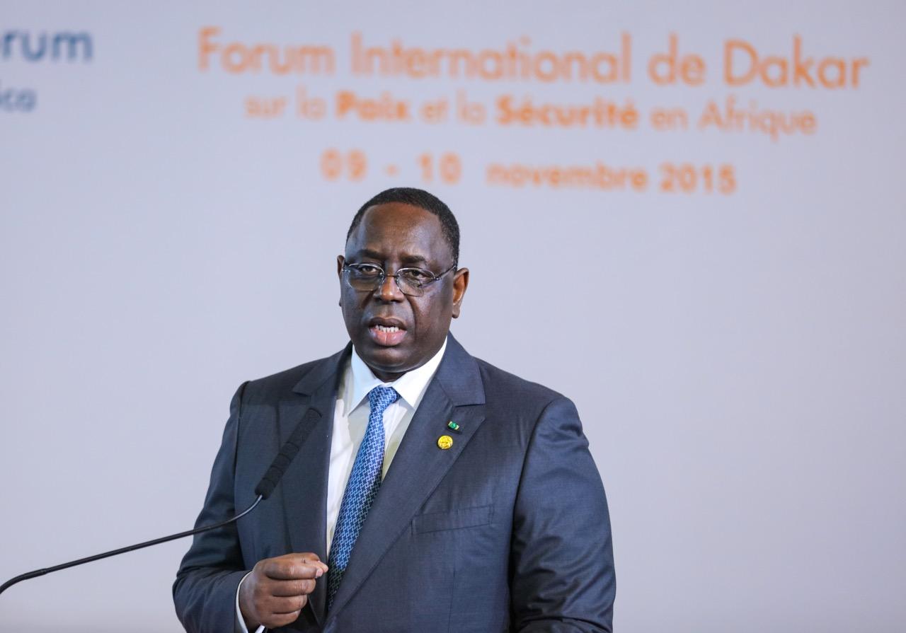 Macky Sall sur la paix et la sécurité en Afrique : « Nous connaissons la typologie classique des menaces en Afrique… »